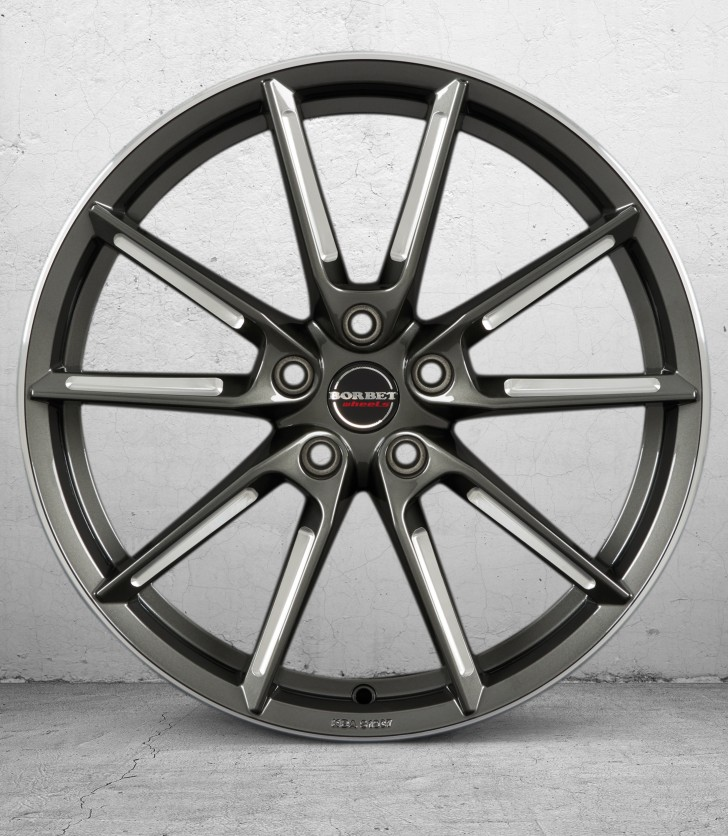 BORBET LX- graphite spoke rim pol. 3