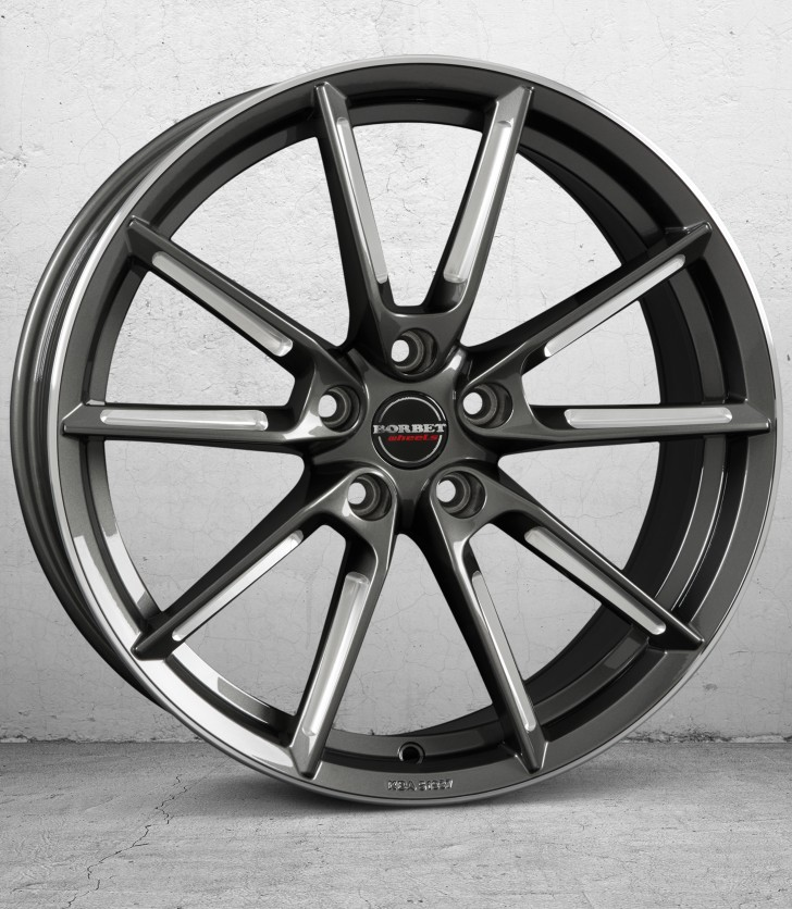 BORBET LX- graphite spoke rim pol. 4